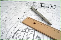 Man sieht Planungsunterlagen von Elektro Partner Herzinger